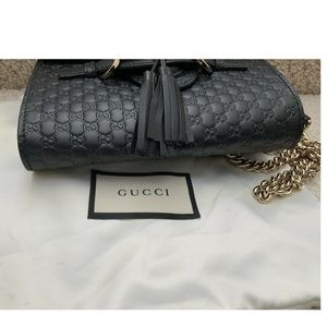 246169db1c7 Gucci Bags - GUCCI Emily Small Microguccissima Leather Shoulder